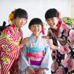岡山のエーエムフォト・ひかちゃん7歳の七五三撮影