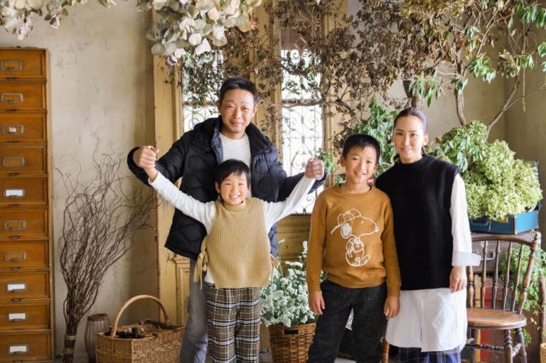 岡山市のエーエムフォトで撮影する家族写真(ファミリーフォト)の写真