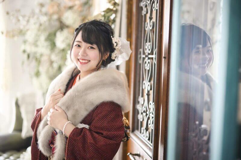 岡山市のエーエムフォトで撮影する成人式の写真